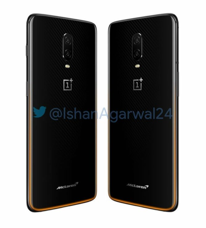 OnePlus 6T McLaren Edition Leaks Out In All Its Glory