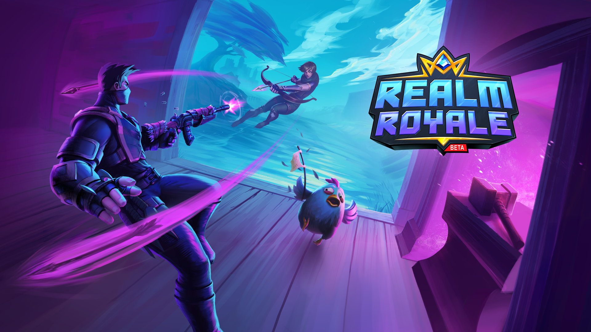 Realm Royale Founder's Pack Giveaway (PlayStation 4 America
