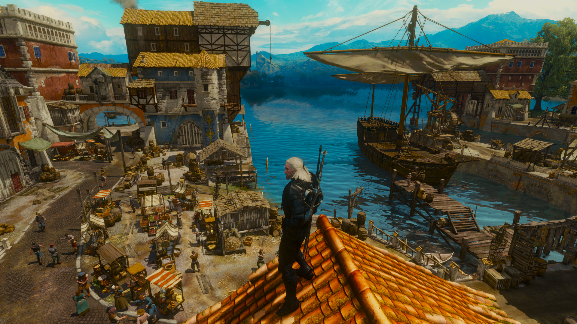 The Witcher 3 New Mod Properly Increases Toussaint Draw Distance