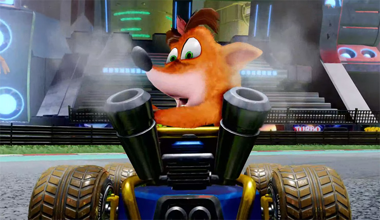 Crash Team Racing Nitro-Fueled Confirmed at The Game Awards