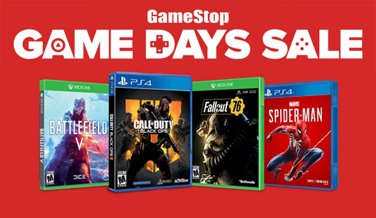 Gamestop Game Days Sale Offers Last Minute Deals On Spider Man