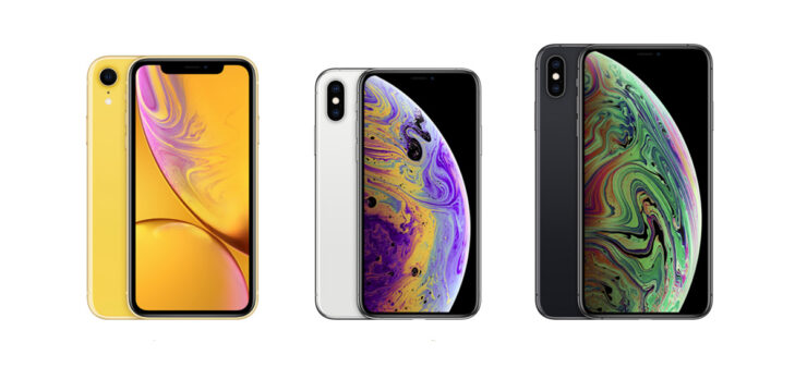 iPhone XR, iPhone XS & iPhone XS Max
