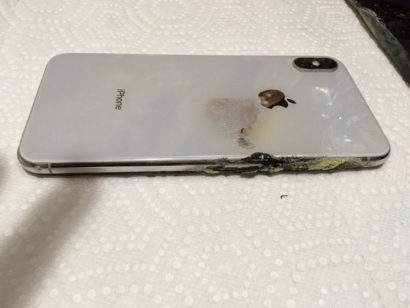 IPhone XS Max catches fire in man's pocket