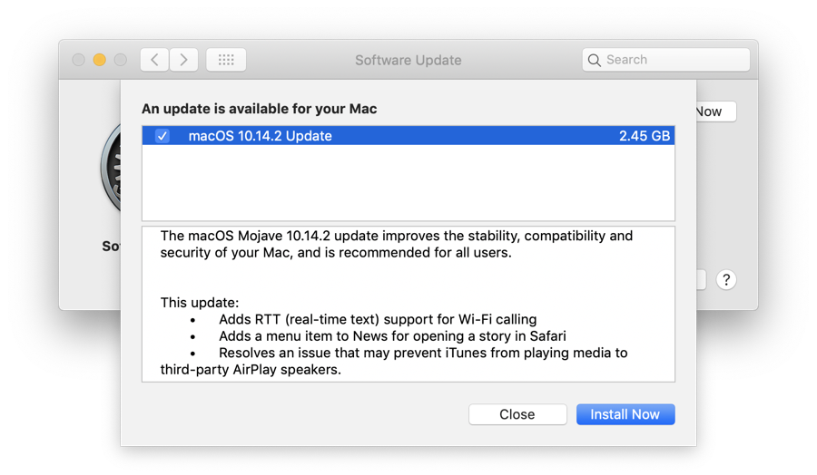 macOS 10 14 2 Mojave Released for Mac Users - How to Download it Now