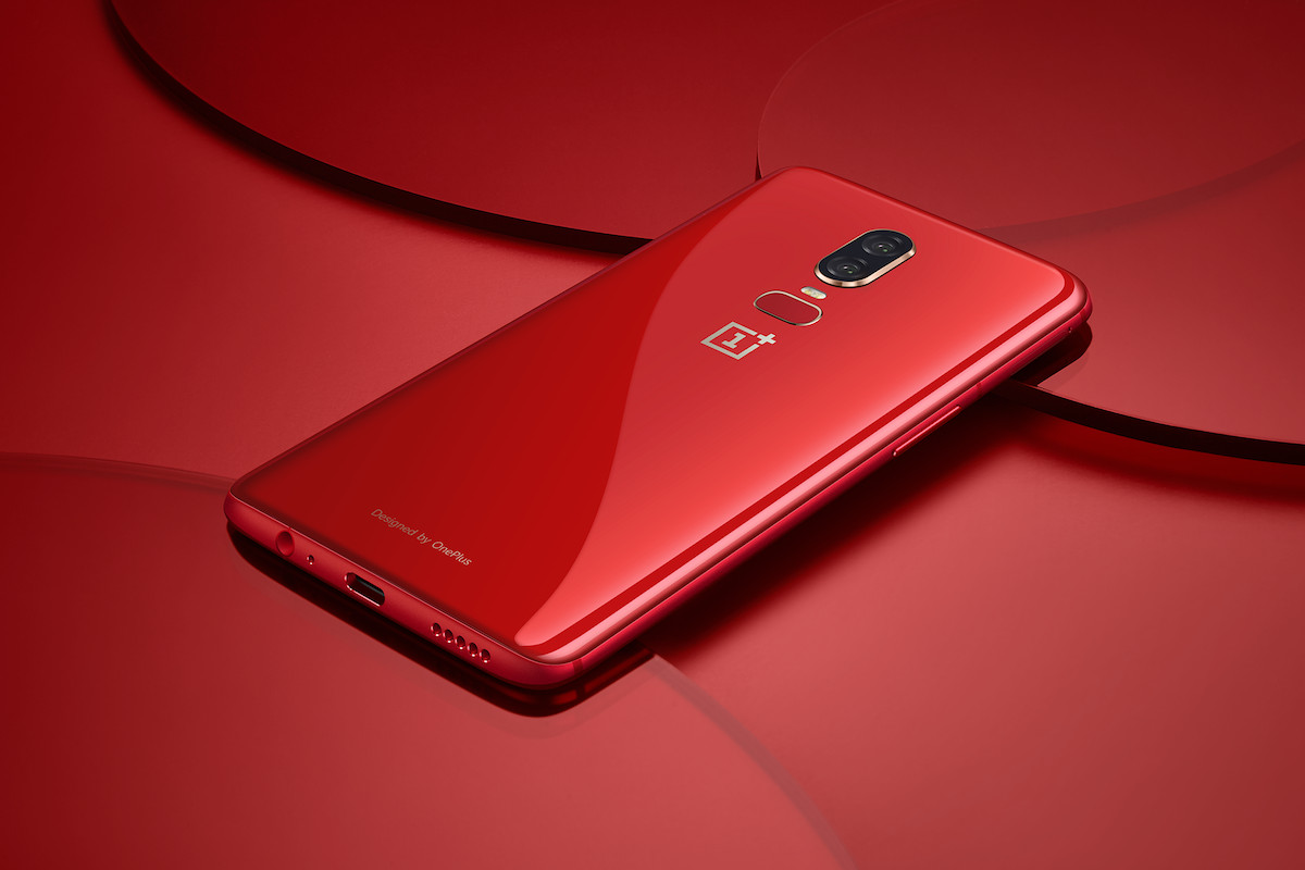oneplus 6 red sale