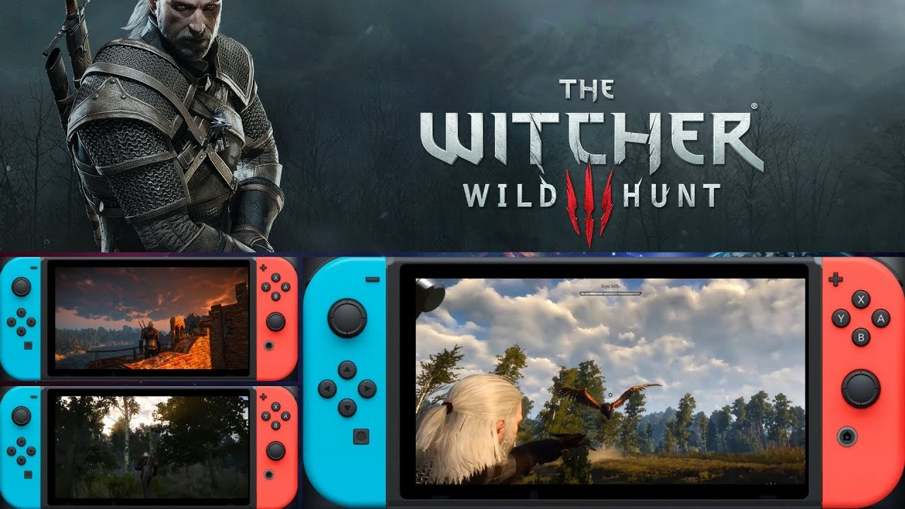 Image result for The Witcher 3 for Nintendo Switch