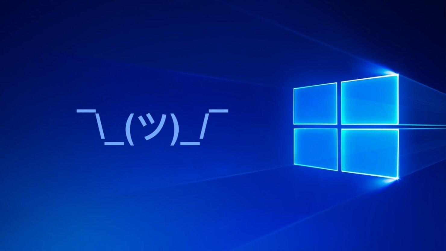 windows 10 kaomoji