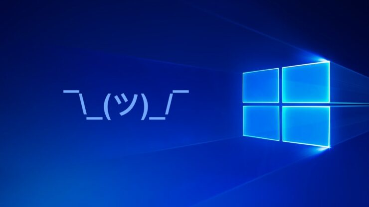 windows 10 kaomoji