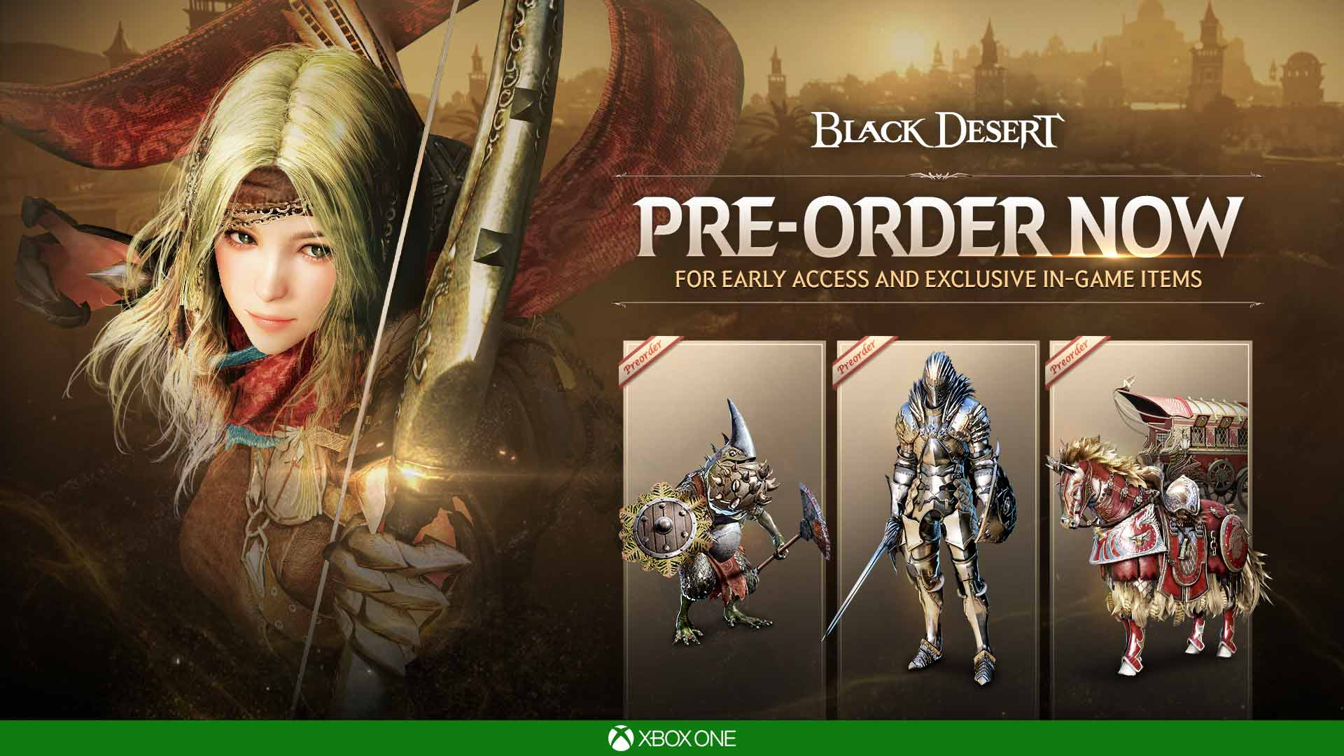 Black Desert to Launch This March on Xbox One