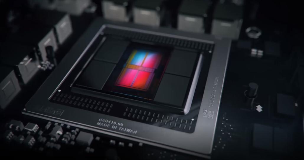 AMD Radeon Vega VII GPU