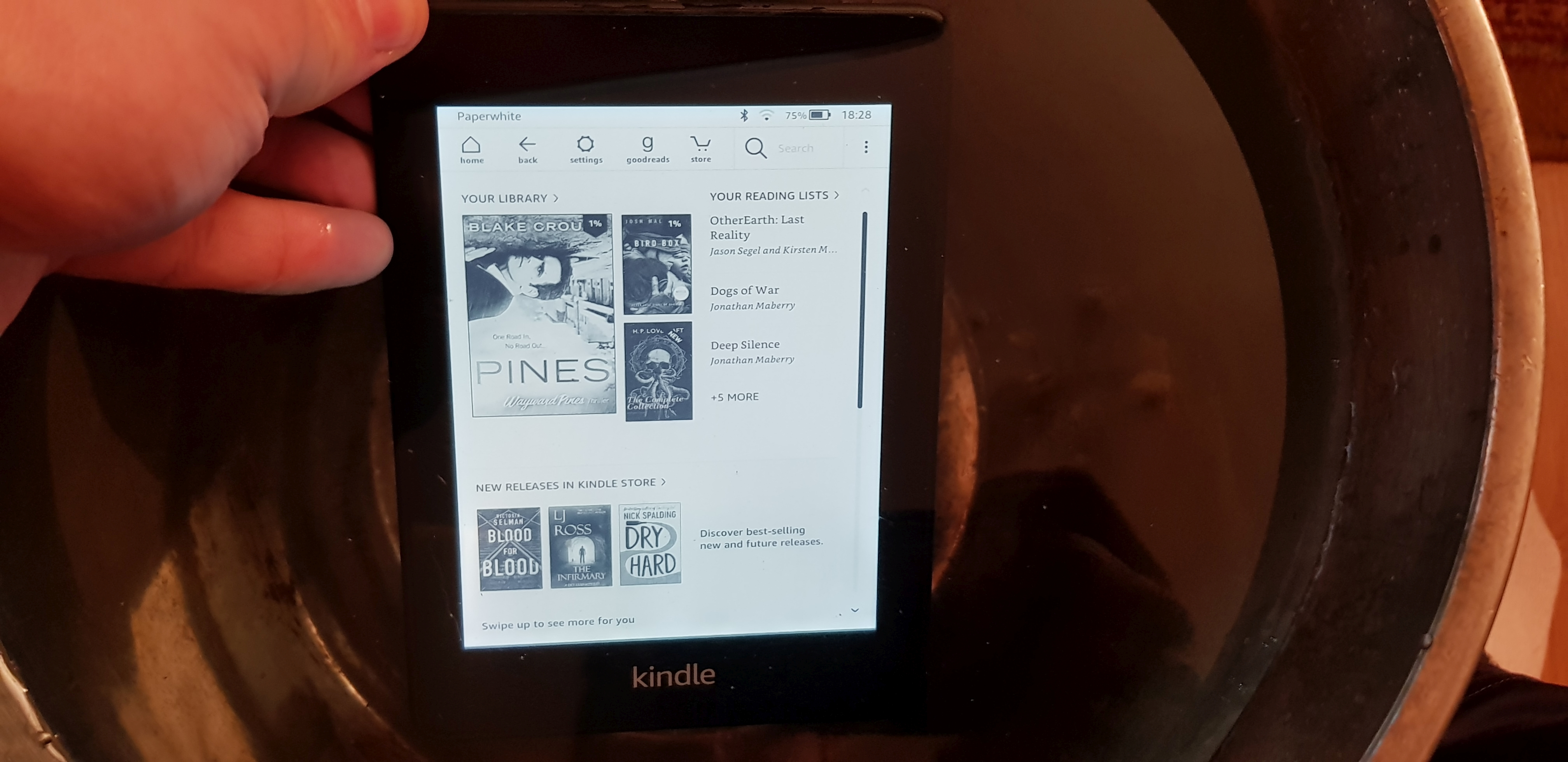 Amazon Kindle Paperwhite 2018 Review - A Page-Turning