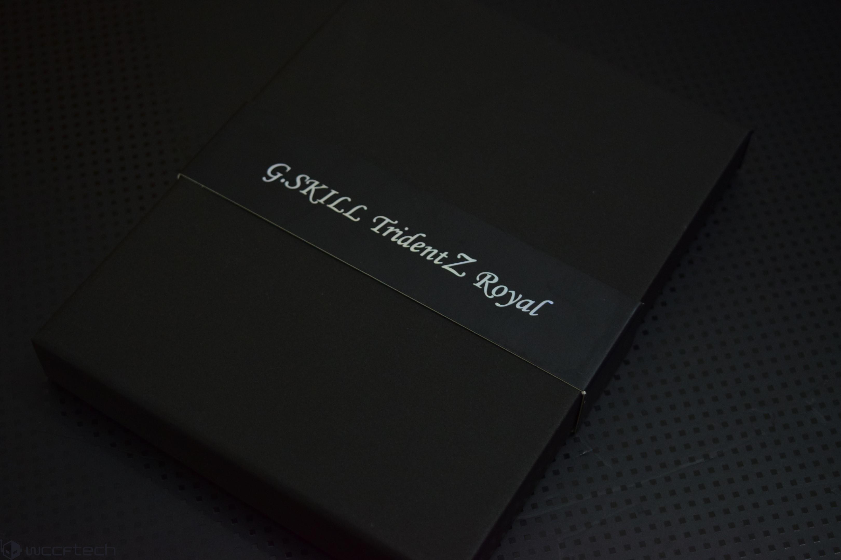 G Skill Trident Z Royal RGB 16 GB DDR4 4000 MHz Memory Kit