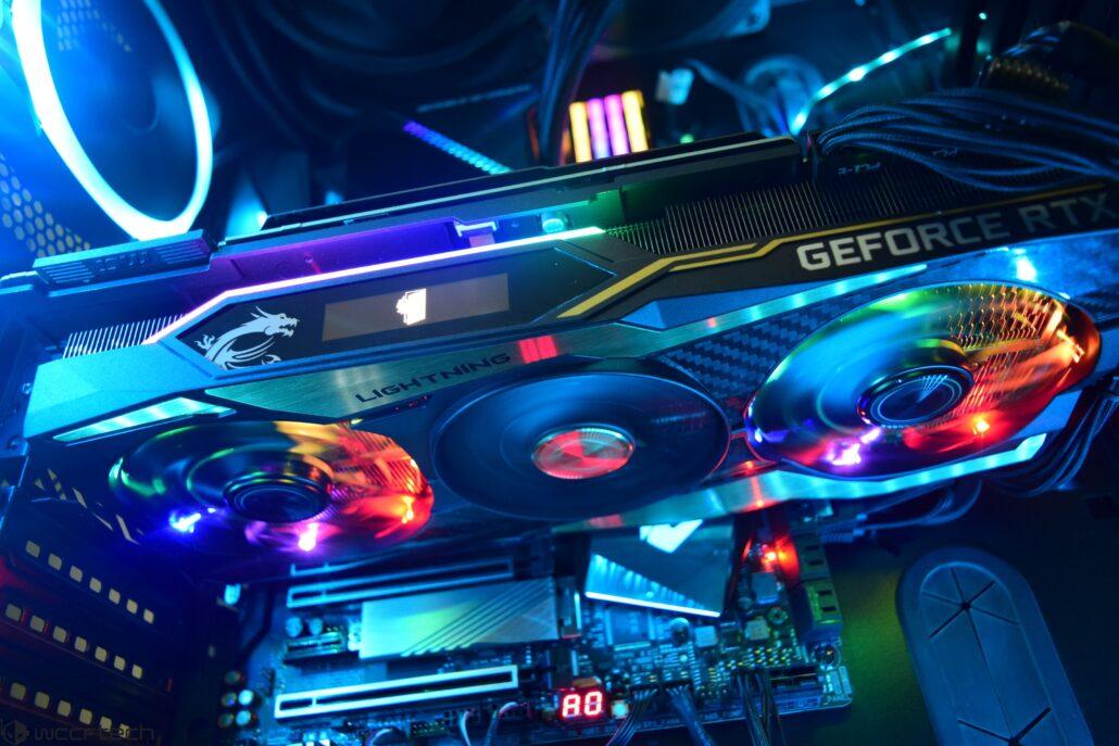 MSI GeForce RTX 2080 Ti Lightning Z 11 GB Graphics Card