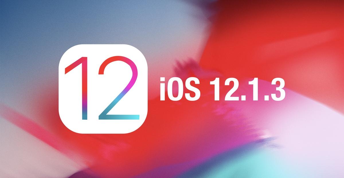iOS 12.1.3 security