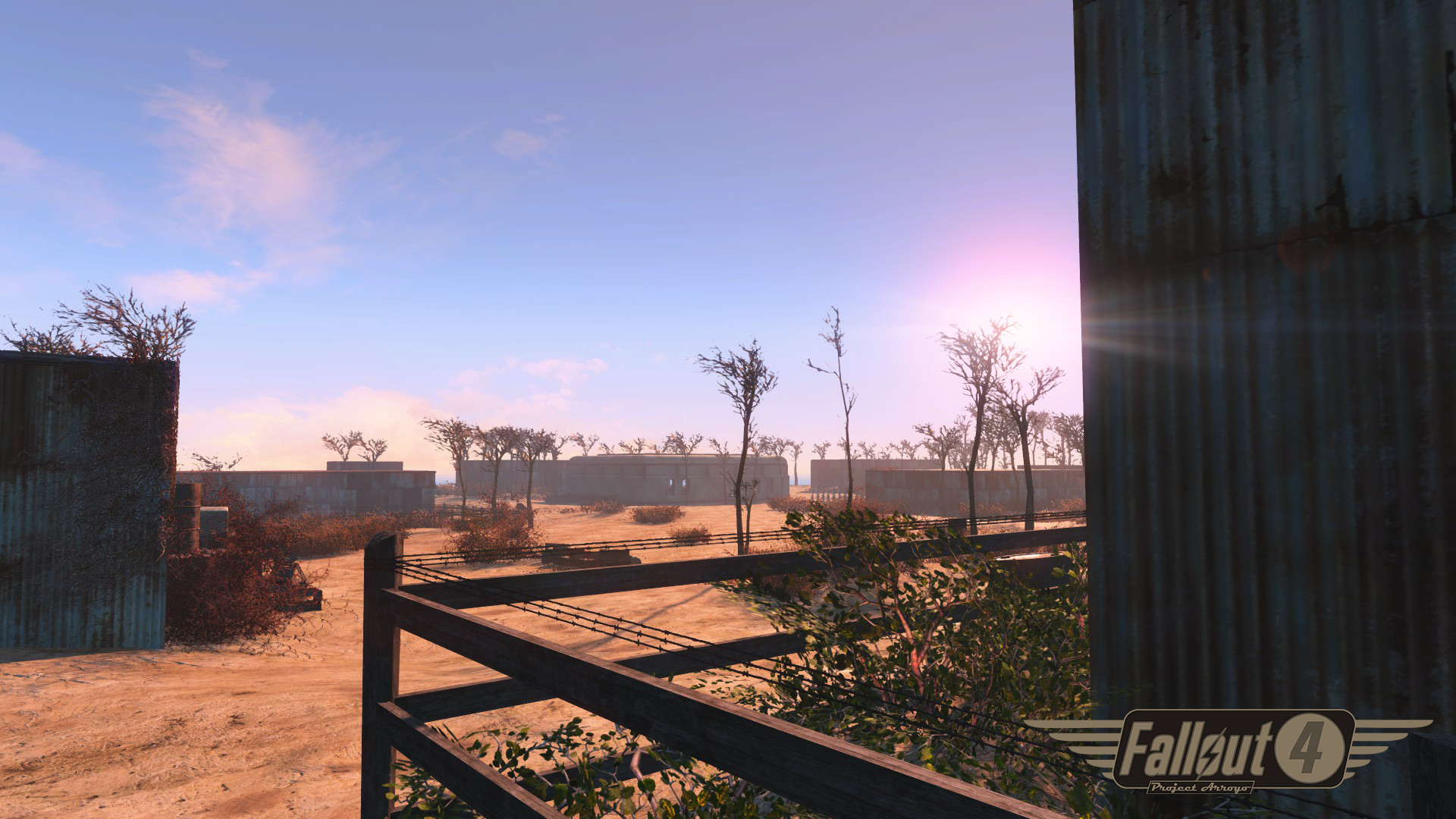 Fallout 4 Fallout 2 Remaster Mod 'Project Arroyo' in the