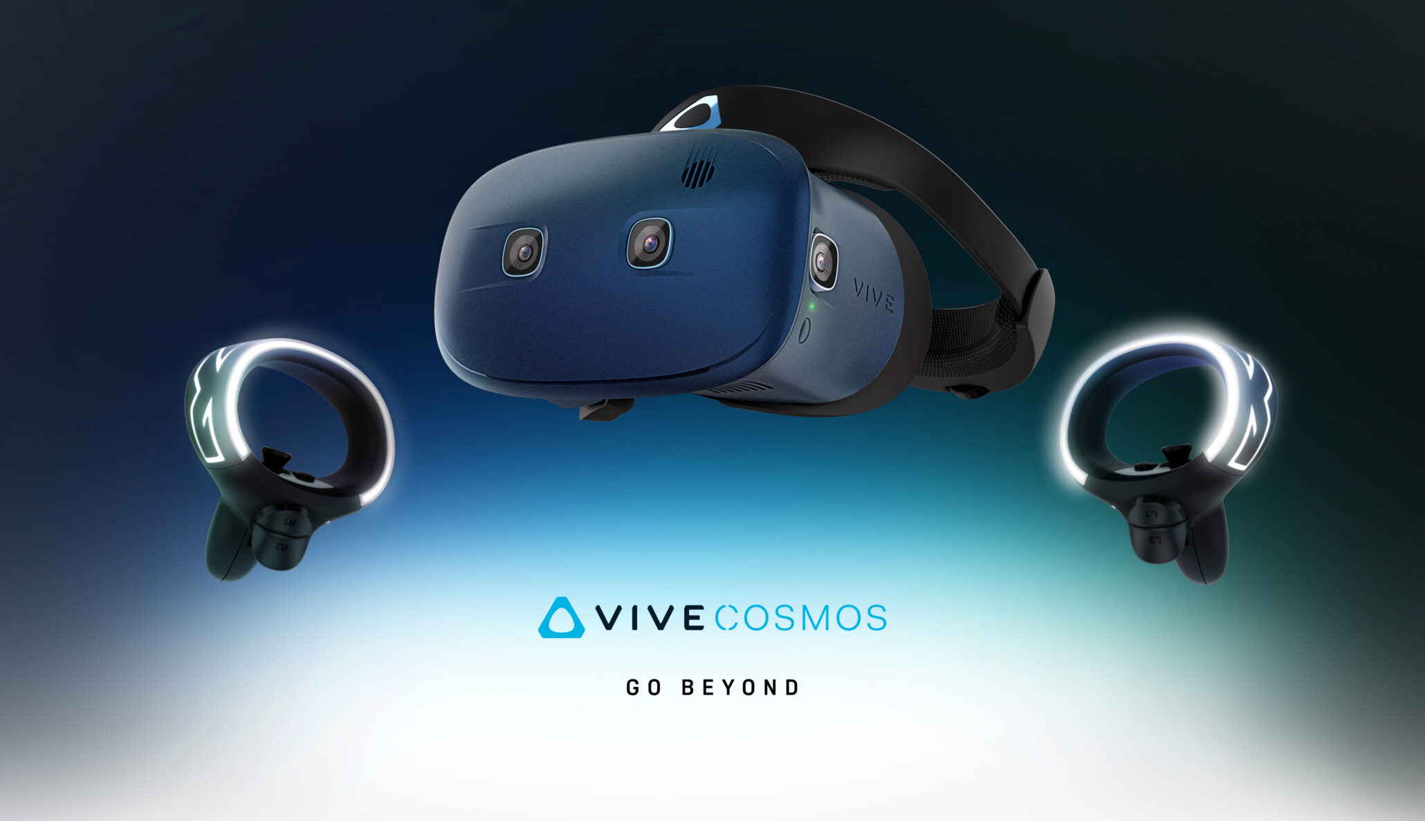 VIVE Cosmos Announced as a Portable VR Headset, While VIVE Pro Gets