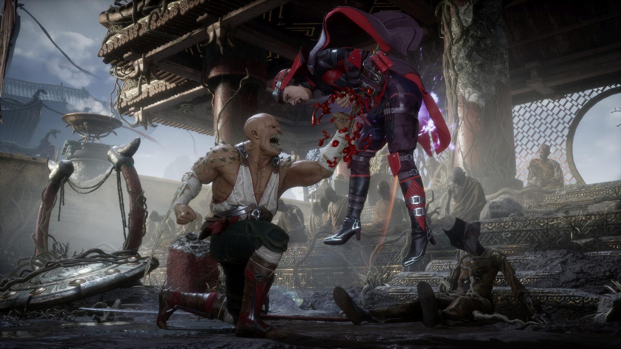 Mortal Kombat 11 Nintendo Switch Digital Version Is Over 20 GB Big