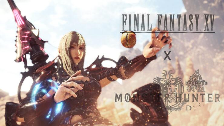 monster-hunter-world-ffxv-aranea-mod-1