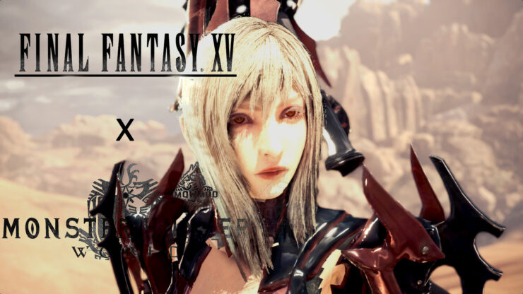 New Monster Hunter World FFXV Aranea Mod Brings Aranea Highwind and