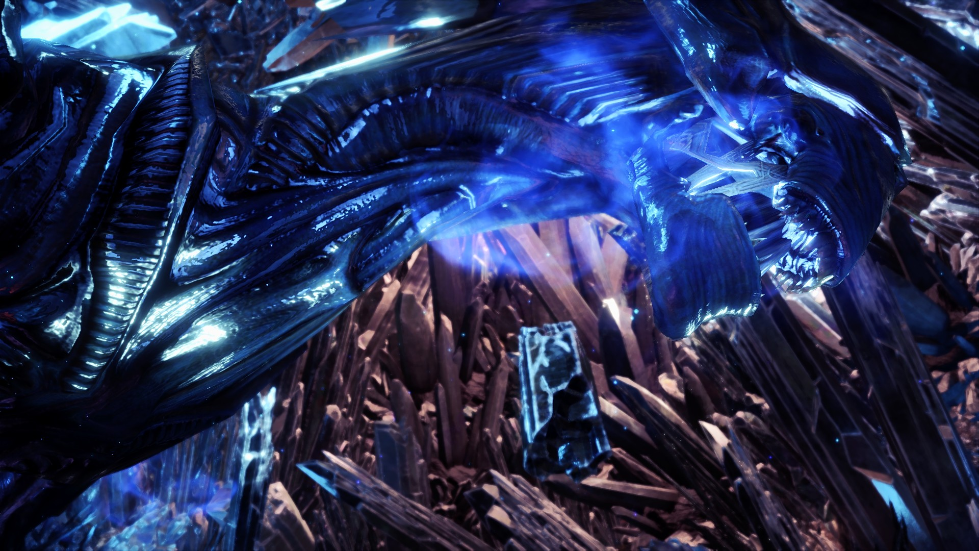 Monster Hunter World New Mod Adds The Xenomorph Queen From Alien