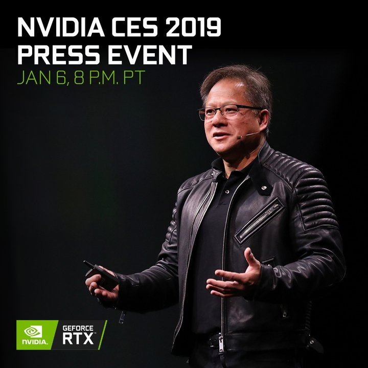 Nvidia's CES 2019 press conference reveals RTX 2060 pricing, release date