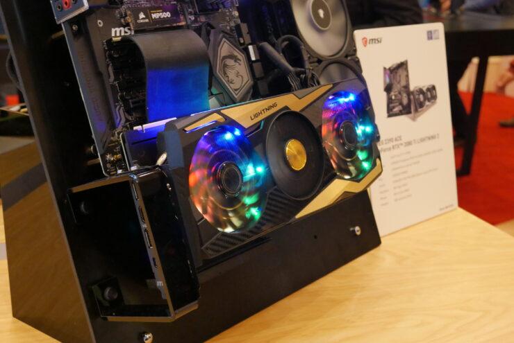 MSI GeForce RTX 2080 Ti Lightning & EVGA RTX 2080 Ti Kingpin Unveil