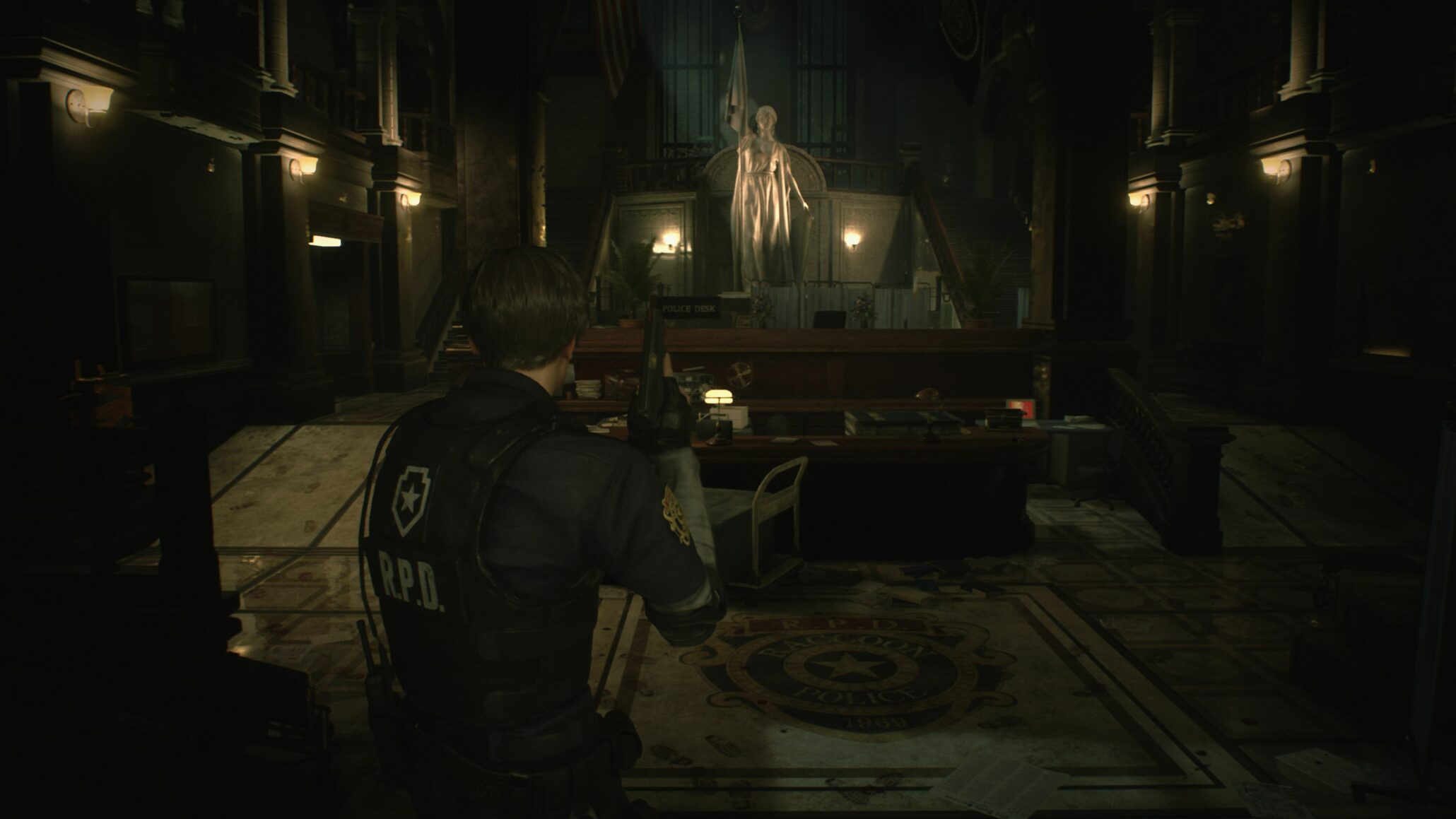 resident evil 2 original screenshots