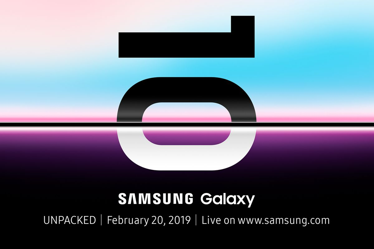 Samsung Galaxy S10 February 20 launch event