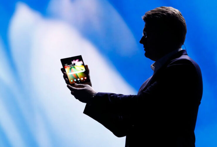 Samsung foldable smartphone february 20