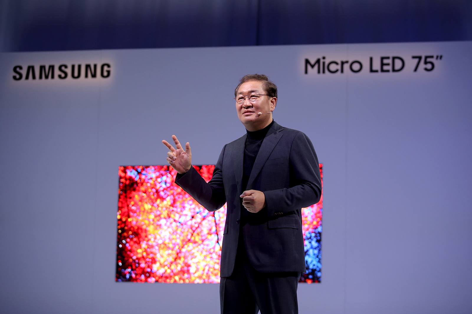 Samsung Unveils Its 75-Inch 4K Modular microLED TV, Calls It
