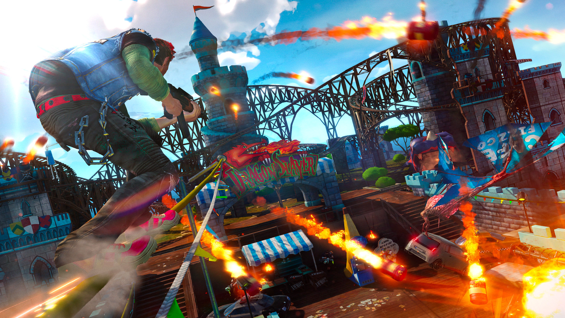 Sunset Overdrive PC Review - Face the Awesomecalypse