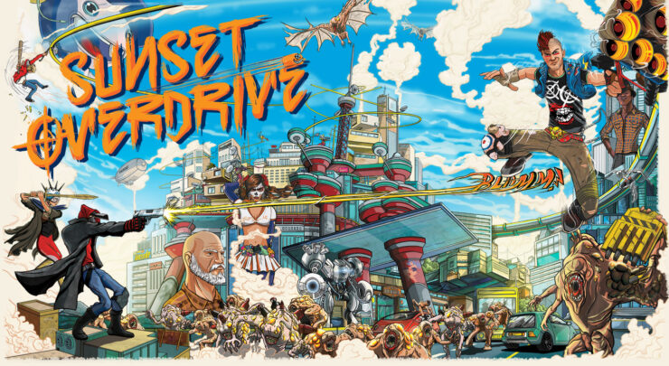 Sunset Overdrive Pc Review Face The Awesomecalypse