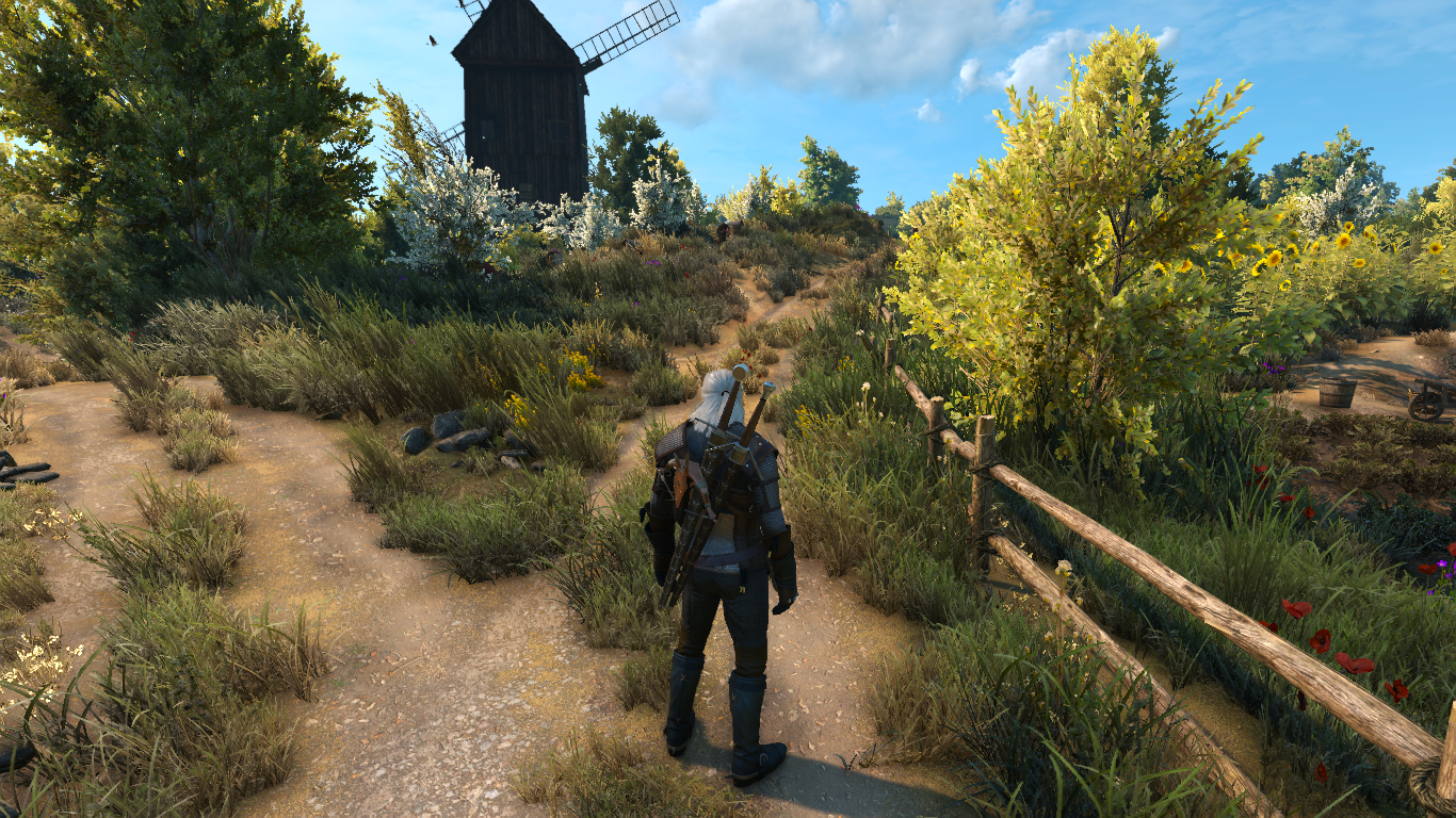 The Witcher 3 New Reduced Texture Brightness Mod Vastily