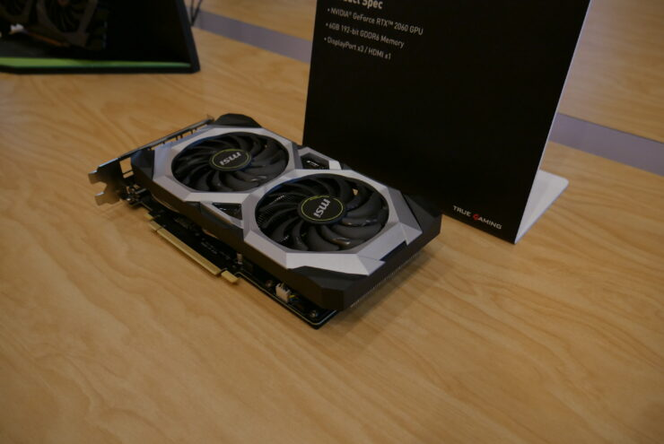 MSI Introduces GeForce RTX 2060 Gaming Z and RTX 2060 Ventus