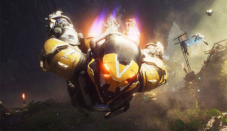 Anthem PC reviews mistake EA