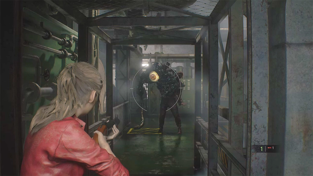 Resident Evil 2 Remake First Person Mod Showcased In Brand