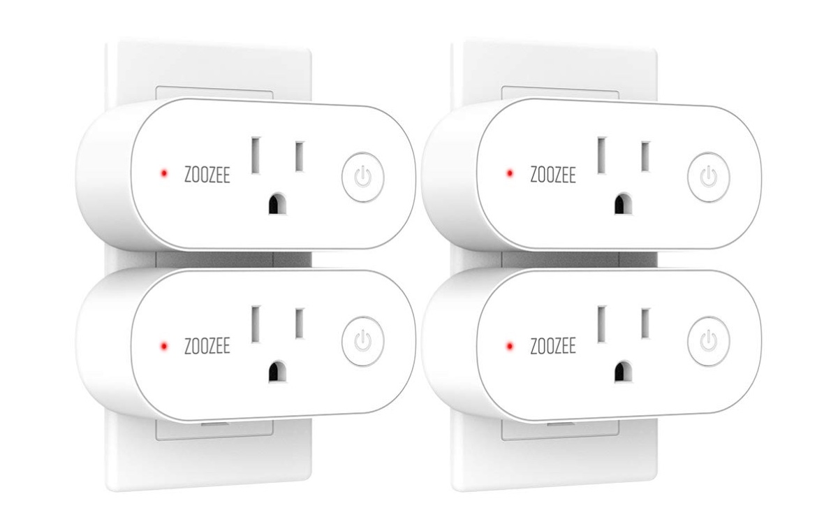 Grab this 4-Pack of Alexa and Google Assistant Compatible