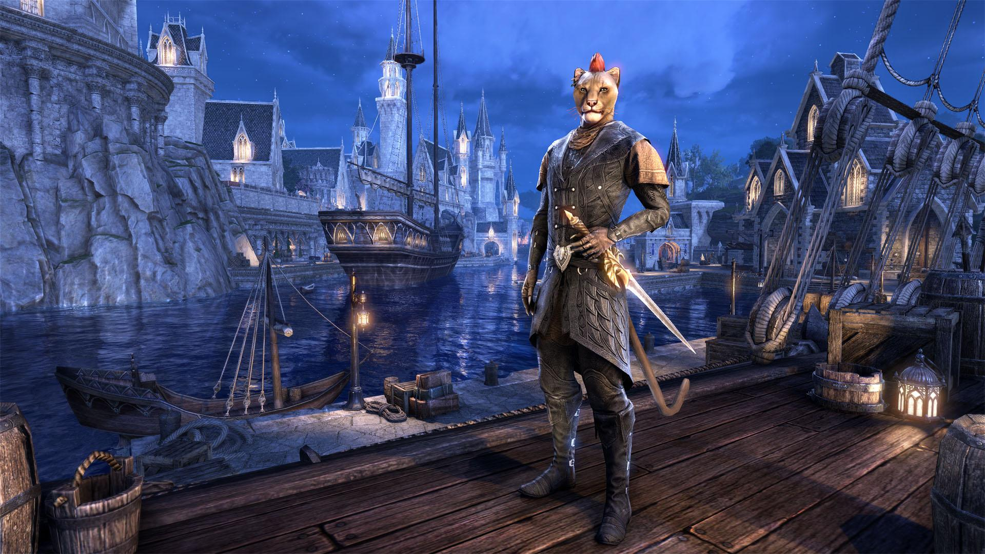 Elder Scrolls Online's Next Chapter Is Set in Elsweyr, Will Feature