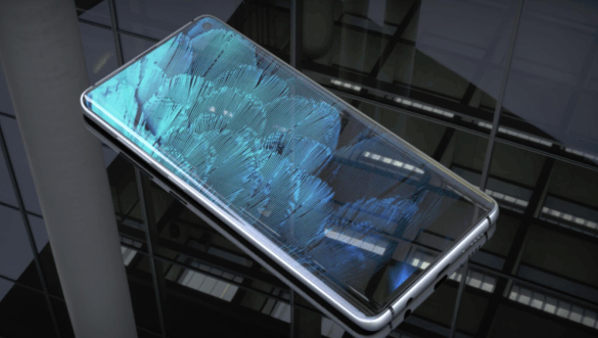 Подробная информация о Samsung Galaxy S10 слита в сеть