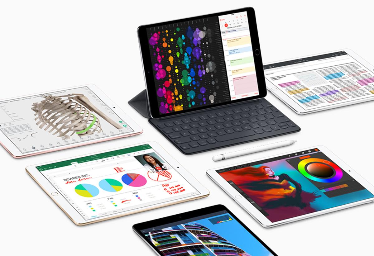 iPad mini 5 and iPad 7