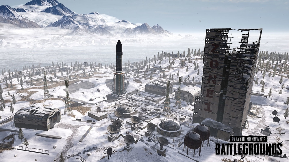 winter themed pubg vikendi map is arriving on playstation. Black Bedroom Furniture Sets. Home Design Ideas