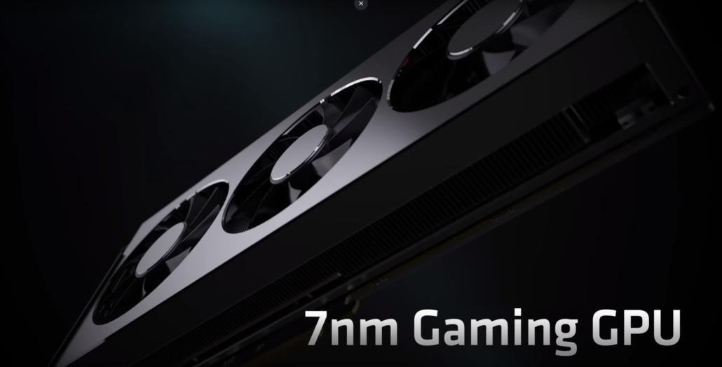 AMD Radeon Navi 7nm GPUs