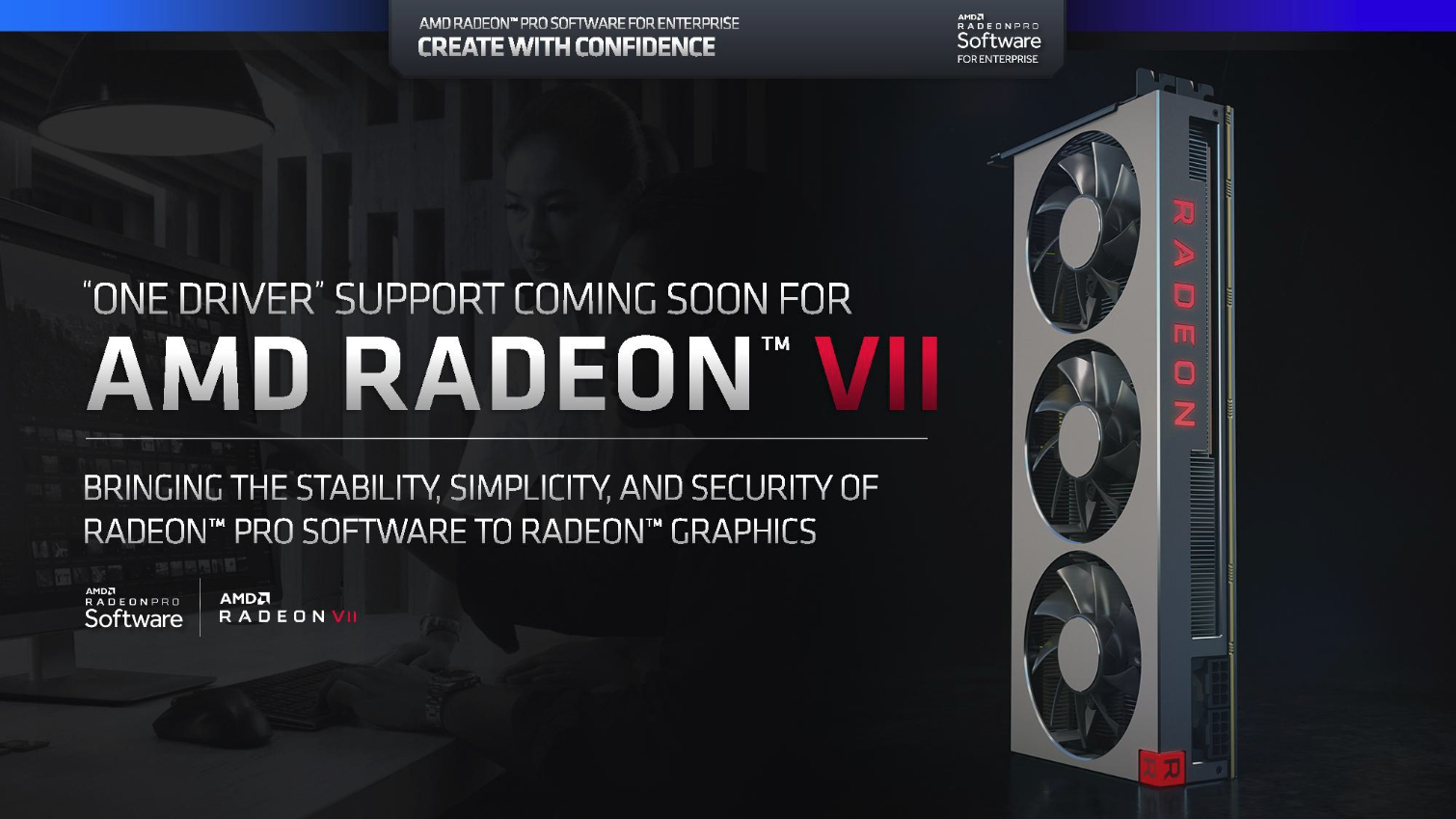 AMD Radeon VII To Recieve Radeon Pro Software For Enterprise