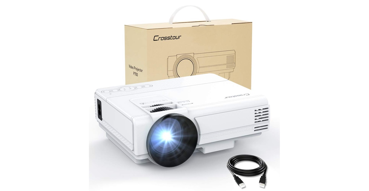 Get a Full HD 1080p LED Projector for Just $55 97 Today, Perfect for
