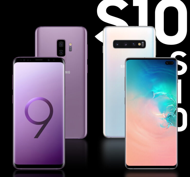 Samsung Galaxy S10 Plus vs Galaxy S9 Plus infograph