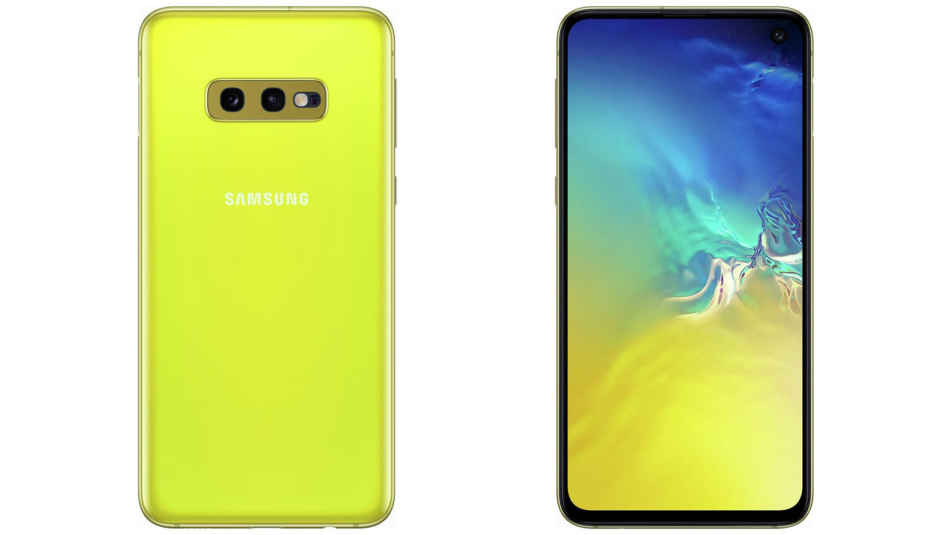 High Resolution Galaxy S10e Images In Canary Yellow Show Up Once