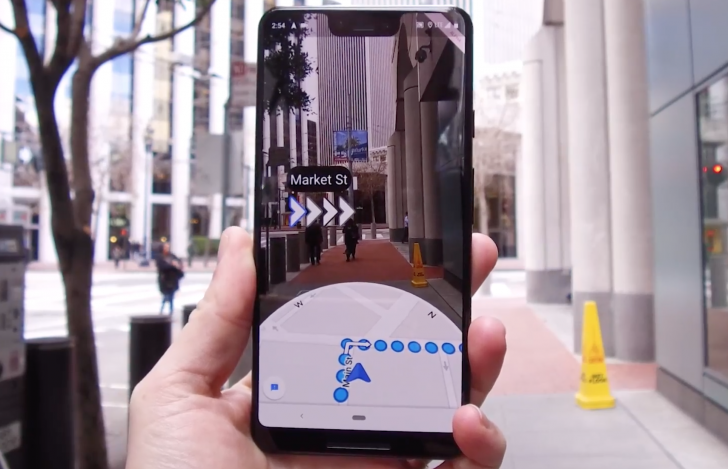 Image result for Google AR MAp