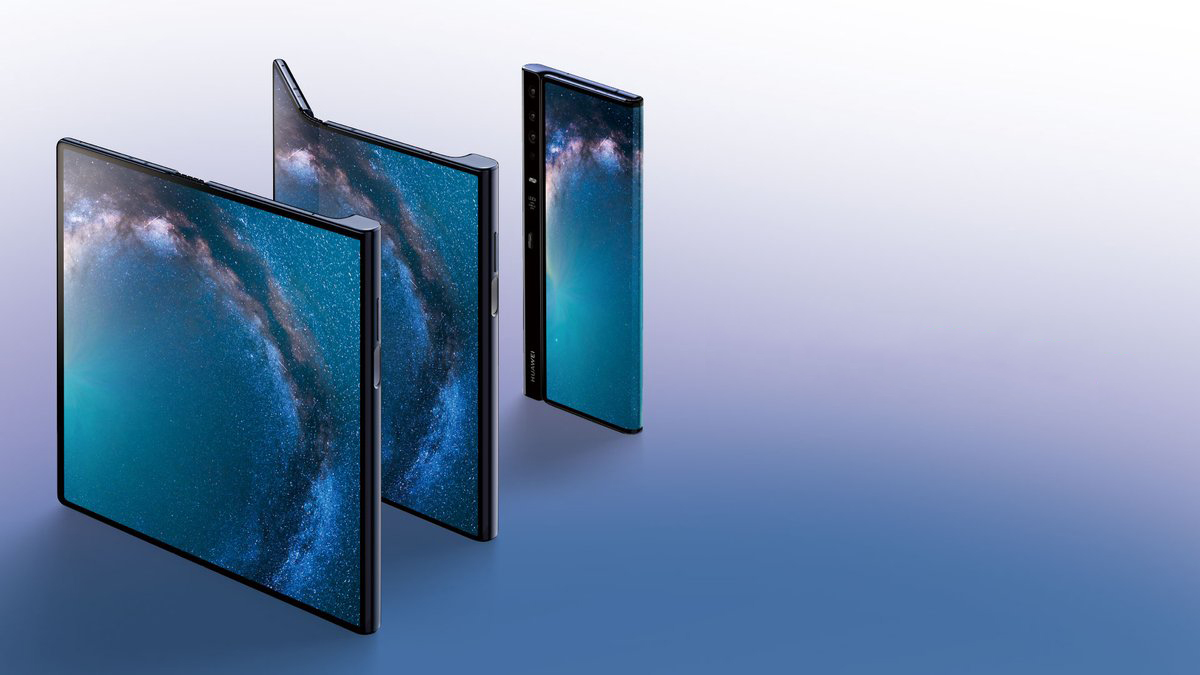 Huawei Mate X Competes Against Samsung's Galaxy Fold - Features 55W Charging and a Steep Price
