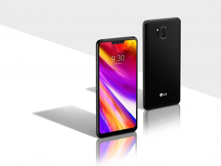 LG G8 ThinQ OLED audio amplifier