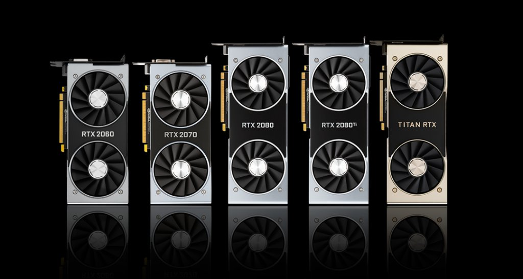 NVIDIA GeForce RTX 20 Series Lineup
